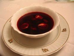 szka in borscht